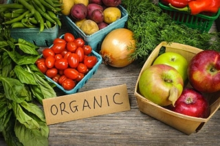 Organic food and drinks