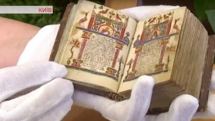 Medieval treasures of Armenian culture displayed in Kiev
